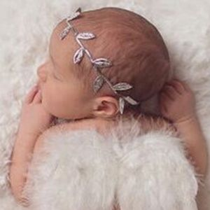 Other - Metallic Silver Leaf Headband Crown